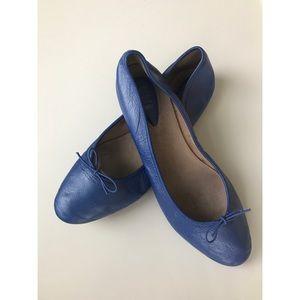 Bloch Fonteyn Ballet Flats in Cornflower Blue